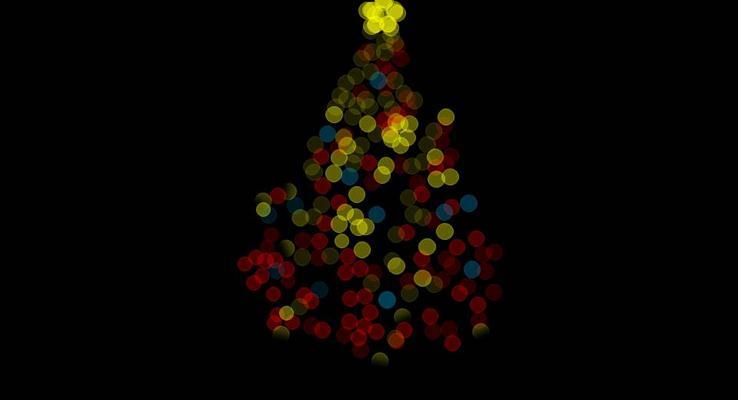 炫酷靓丽精美圣诞PPT模板