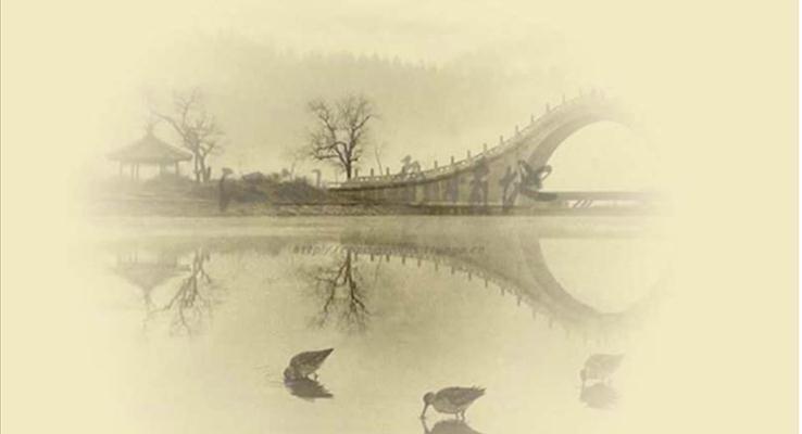 中国风之古色古香复古PPT背景图片
