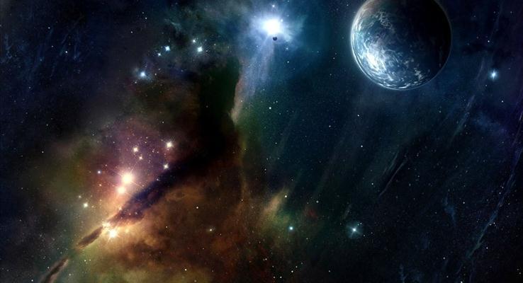宇宙的尘埃与地球