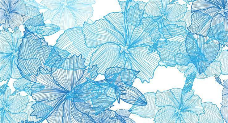花朵切换动画之青花瓷商务总结报告汇报PPT模板