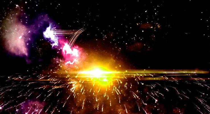 高端火焰特效动画开场公司誓师大会年会年度总结PPT模板