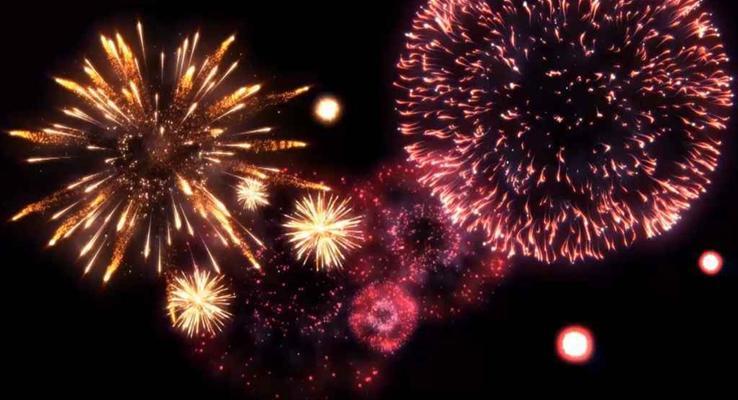 AE开场特效动画剪纸风格狗年新年祝福贺卡PPT模板