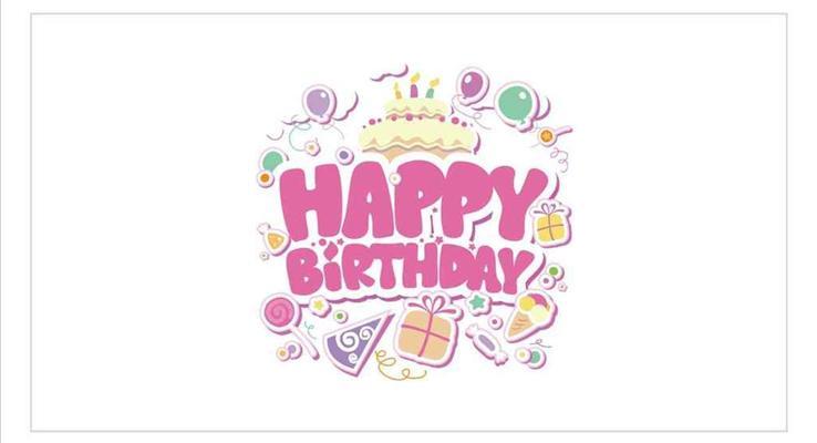 生日快乐送祝福PPT模版