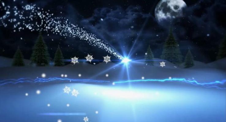 高端圣诞节祝福贺卡PPT模板