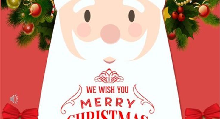 圣诞节PPT活动策划书模板